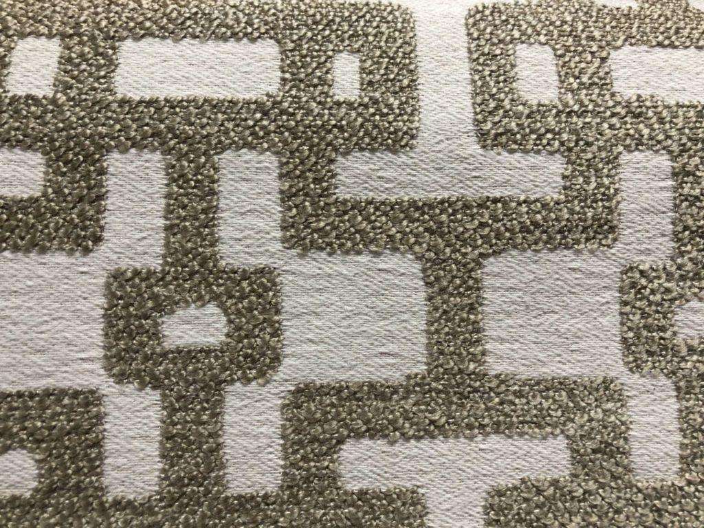 Stof met geometrische print