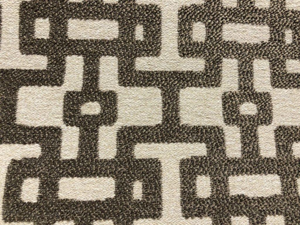 Stof in geometrische print