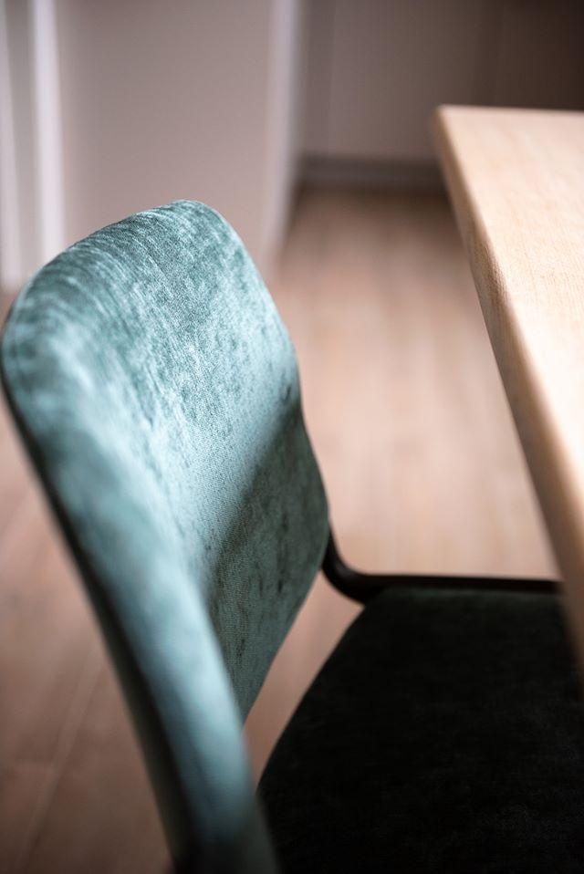 Close-up rugleuning stoel