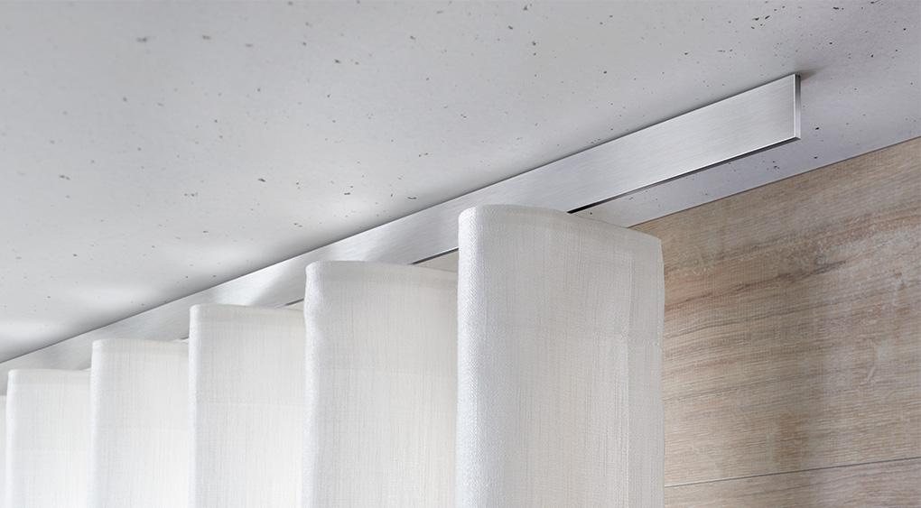 Decoratieve wave rail interstil