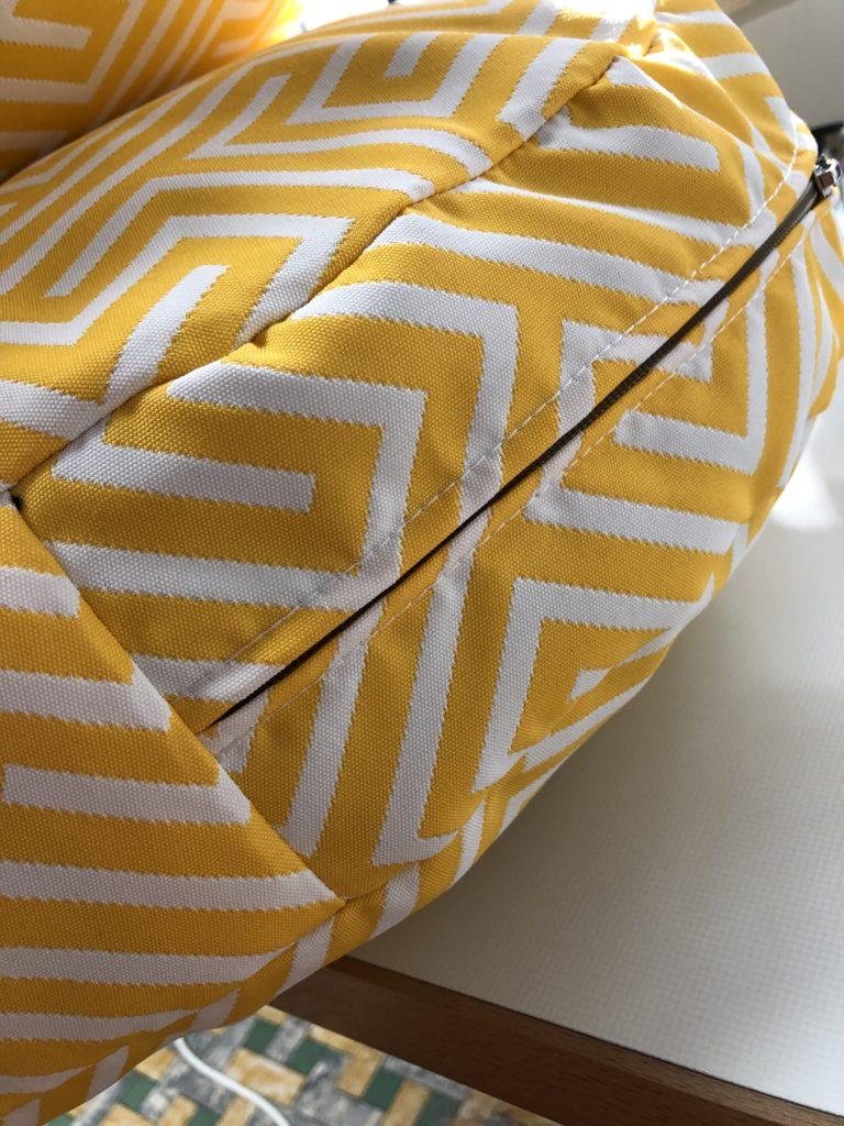 outdoor kussens geometrische print