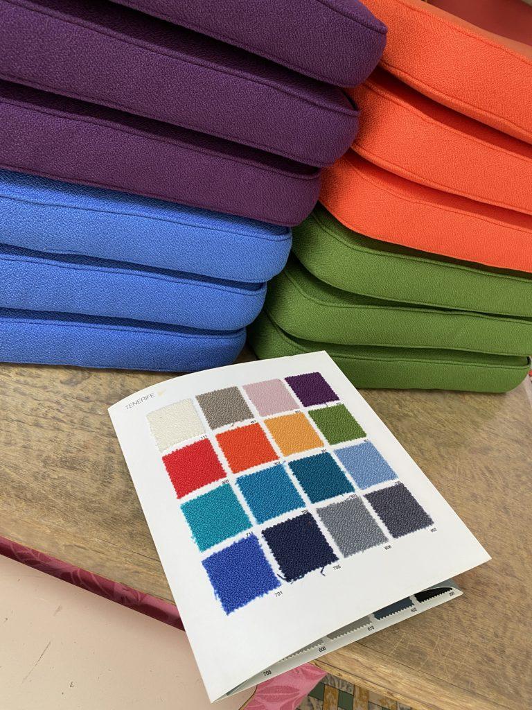 Kleurenkaart buitenkussens