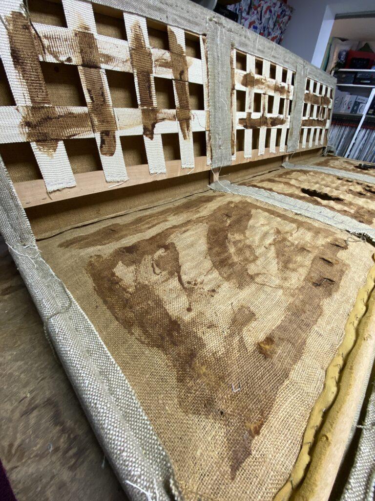 Afbraak tot op het houtwerk Florence Knoll 67A