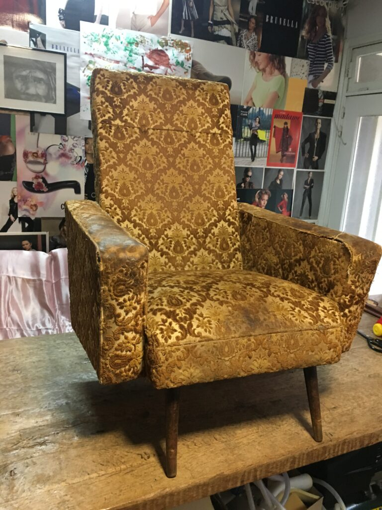 Vintage zetel